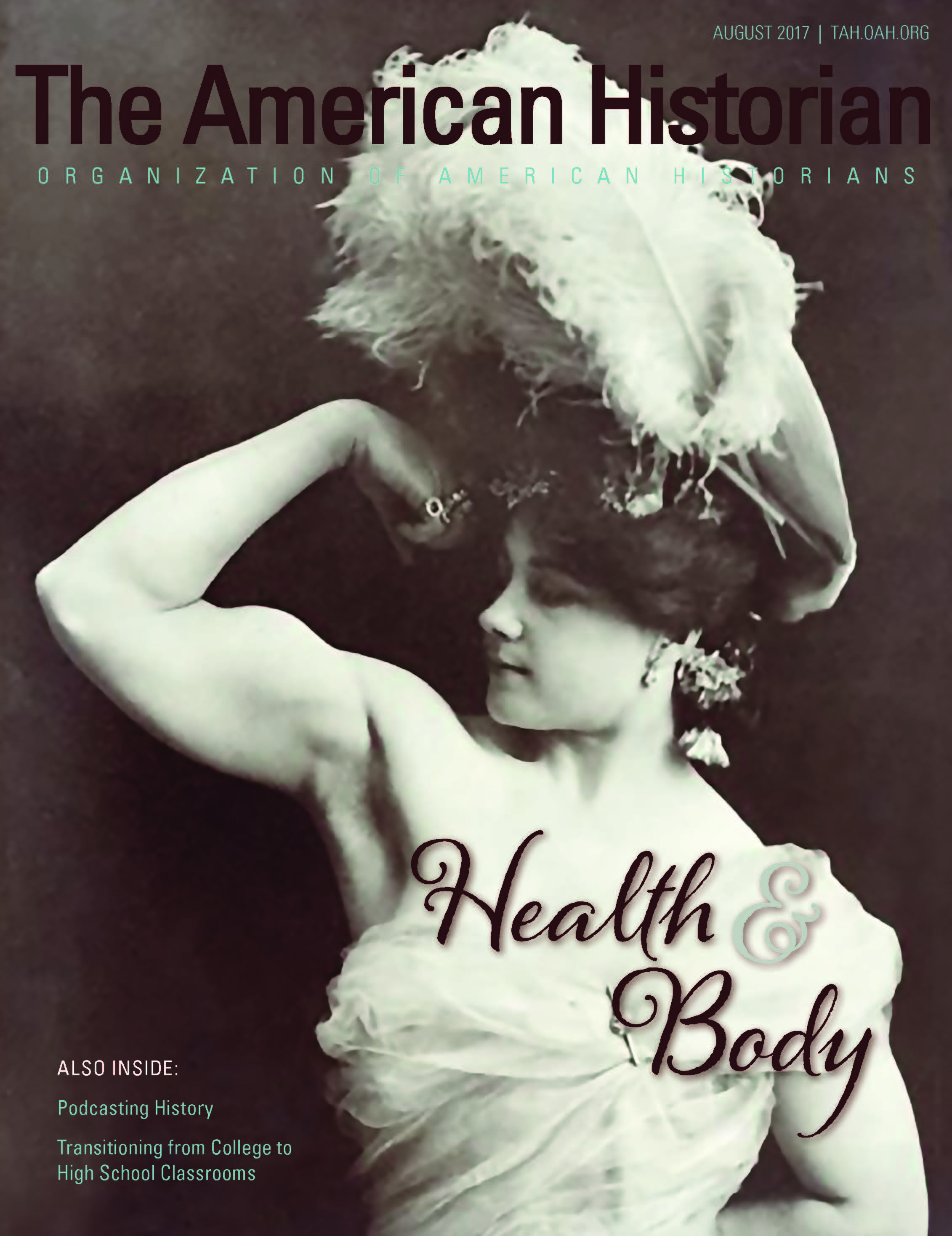 Cover image with link to The American Historian issue for Health and Body