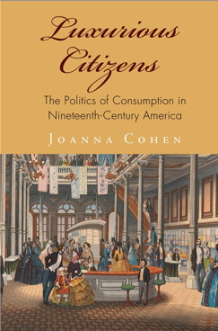 The book cover of Cohen's Luxurious Citizens