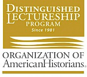 Gold logo for the Organization of American Historians' Distinguished Lectureship Program