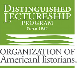Green logo for the Organization of American Historians Distinguished Lectureship Program