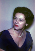 A color photograph of Mary Nickliss