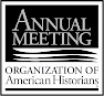 Logo for the Organization of American Historians' Annual Meeting