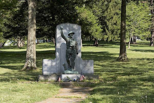 'Spirit of the American Doughboy' memorial statue