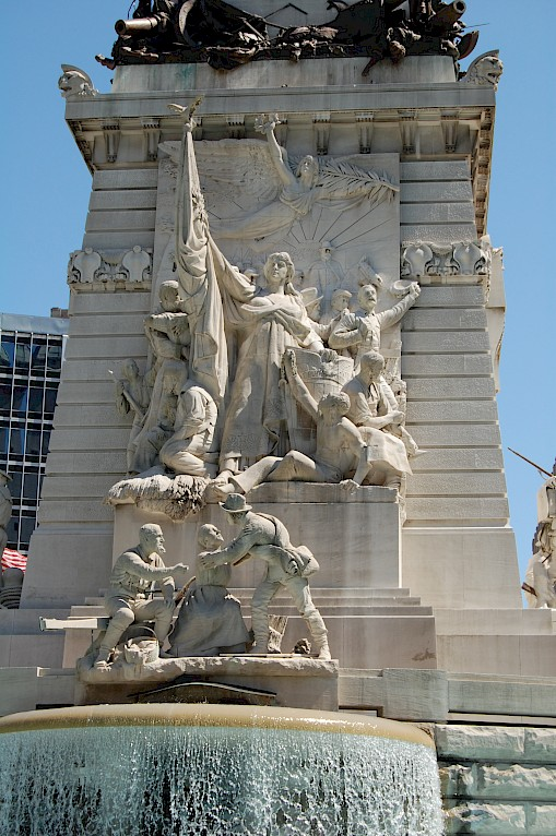 Indiana State Soldiers' and Sailors' Monument, Indianapolis, 2009