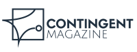 Logo for Contingent magazine