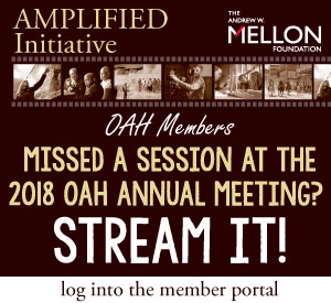 2018 OAH Annual Meeting Amplified Initiative Link - for OAH members