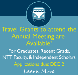 Travel Grants to attend the Annual Meeting are Available