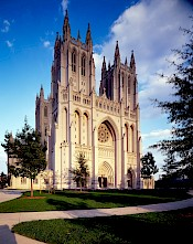 National Cathedral- https://en.wikipedia.org/wiki/Washington_National_Cathedral#/media/File:WashingtonNationalCathedralHighsmith15393v.jpg