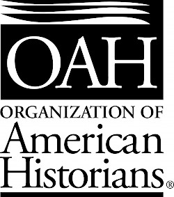 Black logo for the Organization of American Historians