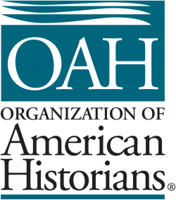 Teal logo for the Organization of American Historians