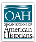 This image is a wordmark for the Organization of American Historians
