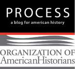 Logo for the Organization of American Historians' blog, Process